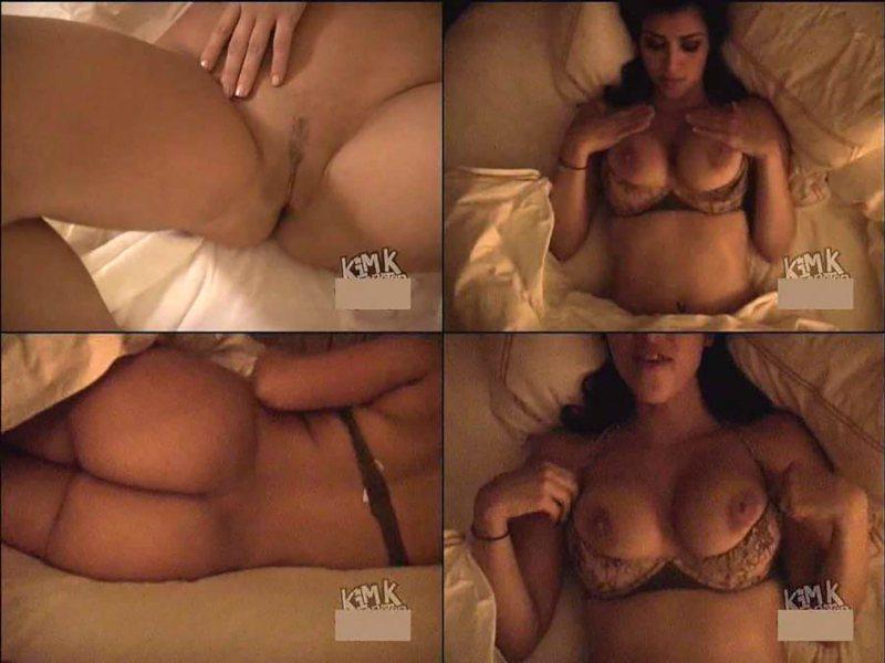 Kim Kardashian's intimate video