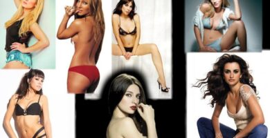 Famous naked Spanish women