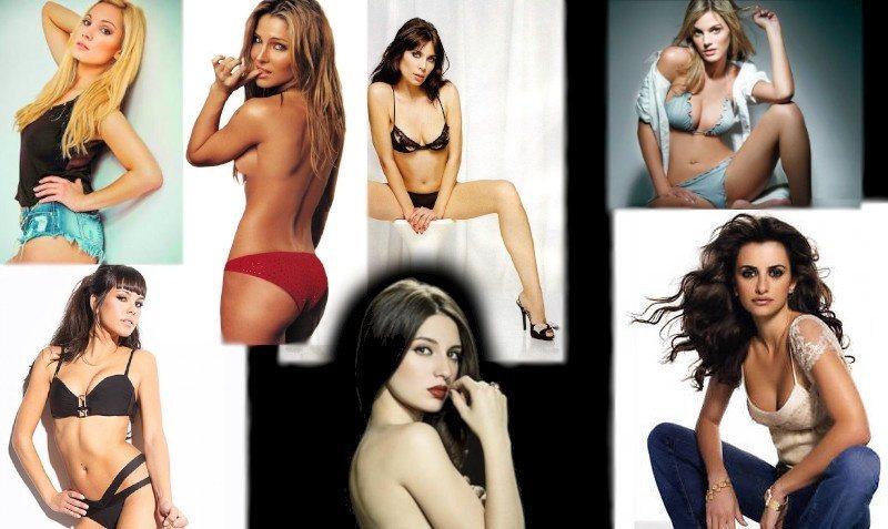 Famous naked Spanish women