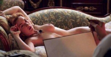 Kate Winslet posa desnuda en Titanic