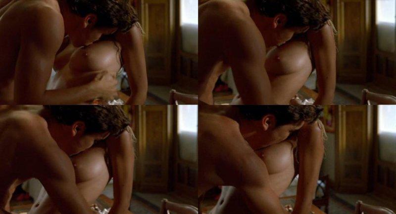 Amaia Salamanca desnuda y follando