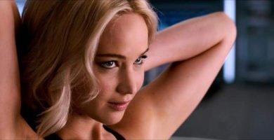 La primera escena de sexo de Jennifer Lawrence
