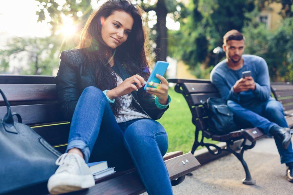 Ligar en Internet con chicas