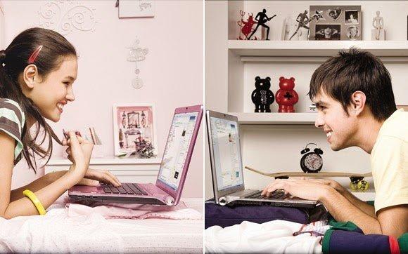 Ligar en internet con chicas y chicos