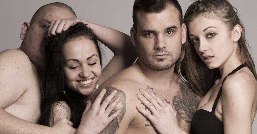 Русский групповой секс хорошего качества
