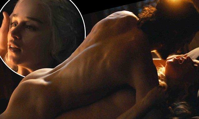 La escena de sexo entre Jon Nieve y Daenerys Targaryen