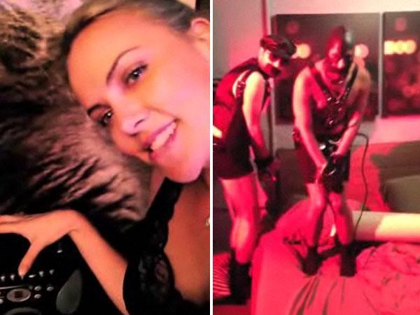 El polémico vídeo porno de Charlize Theron