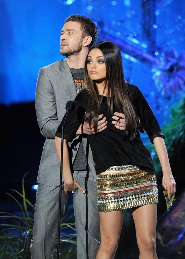 Justin Timberlake y Mila Kunis tienen derecho a roce