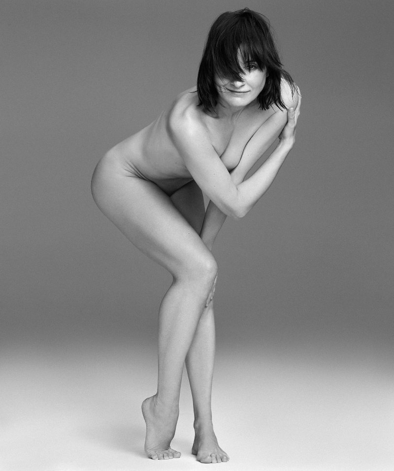 Nathalie Poza desnuda