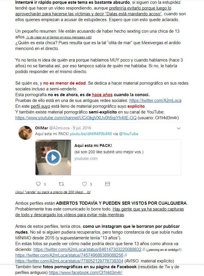 Tweet de Dalas