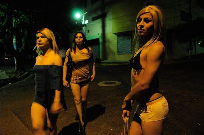 Travestis en la noche de Madrid