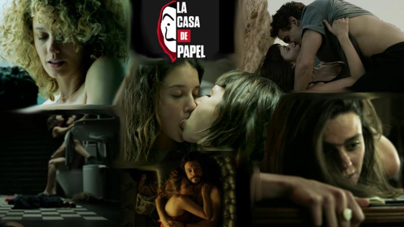 Sexo en La casa de papel