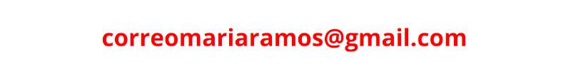 correo María Ramos