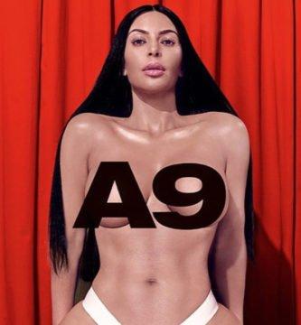 Kim Kardashian se desnuda para una revista erótica