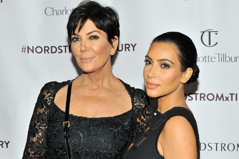 Kim Kardashian y su madre, Kris Jenner