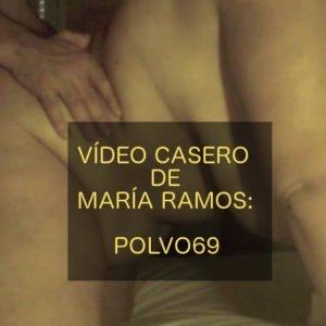Vídeo casero de María Ramos