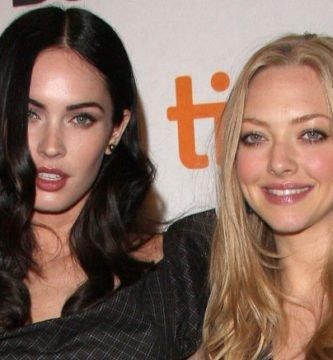 Amanda Seyfried disfrutó con el beso a Megan Fox
