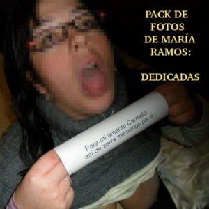 Pack de fotos de María Ramos: Dedicadas