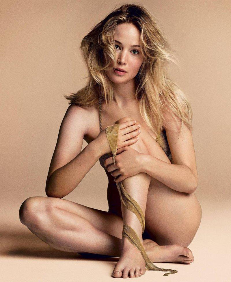 Jennifer Lawrence desnuda
