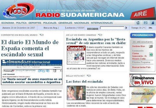Orgía de profesoras en Argentina