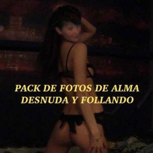 Pack de fotos de Alma: Desnuda y follando