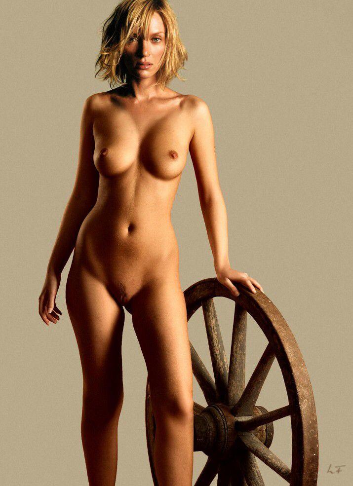 Uma Thurman desnuda