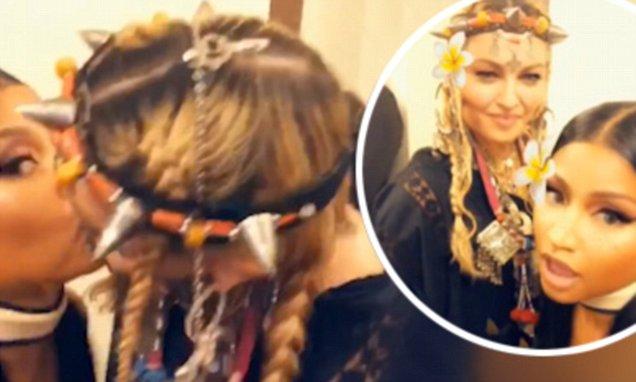 Madonna y Nicky Minaj