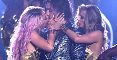 Los besos más polémicos de las famosas