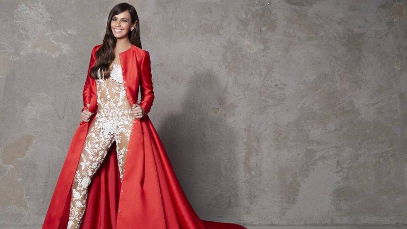 El vestido de Cristina Pedroche en Nochevieja 2017