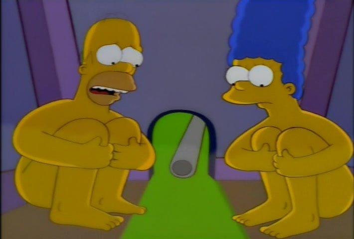 Los Simpson - Sexo en el mini golf