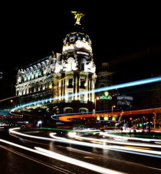 La noche en Madrid