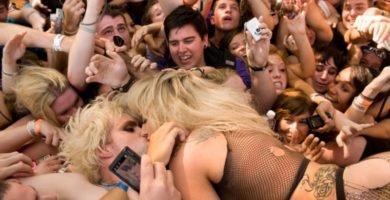 Las provocaciones de Lady Gaga sobre el escenario