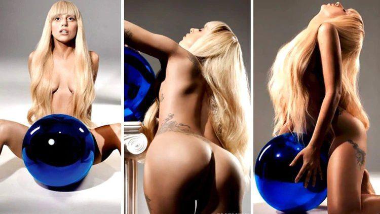 L. Gaga desnuda