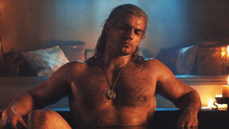 Geralt de Rivia desnudo