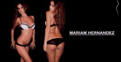 Miriam Hern谩ndez desnuda y follando