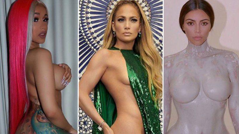 Celebridades desnudas