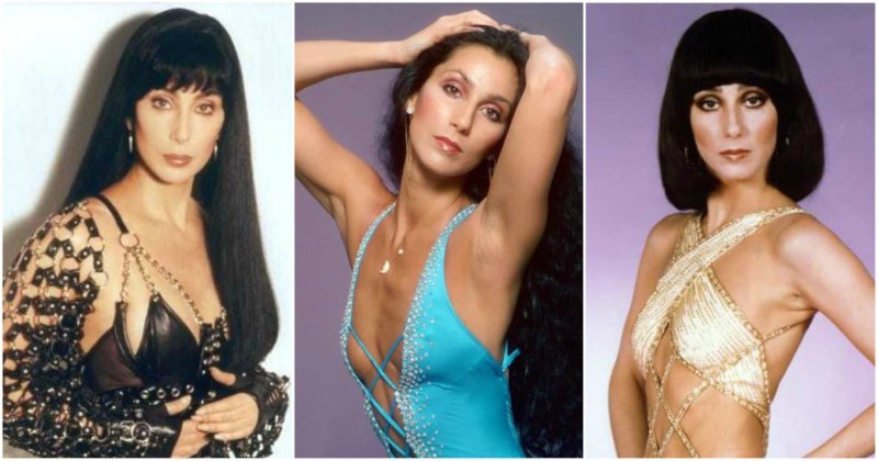 Cher desnuda