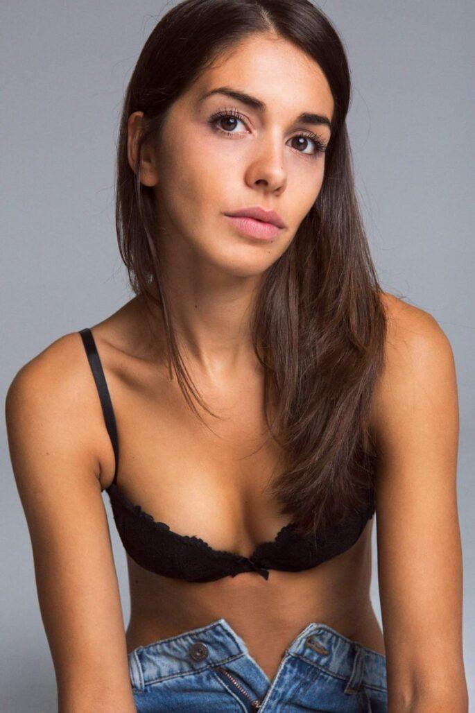 Cristina Saavedra desnuda