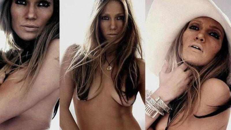 Jennifer Lopez al natural