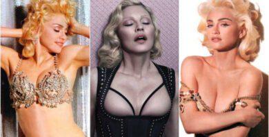 Madonna desnuda
