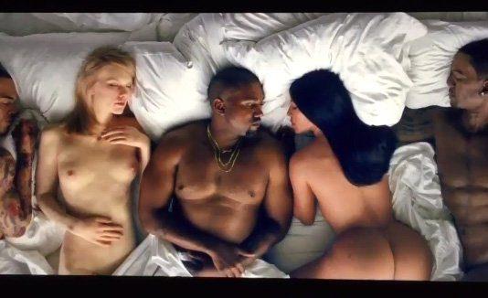 Taylor Swift desnuda en el videoclip de Kanye West