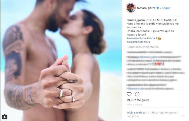 Tamara Gorro desnuda