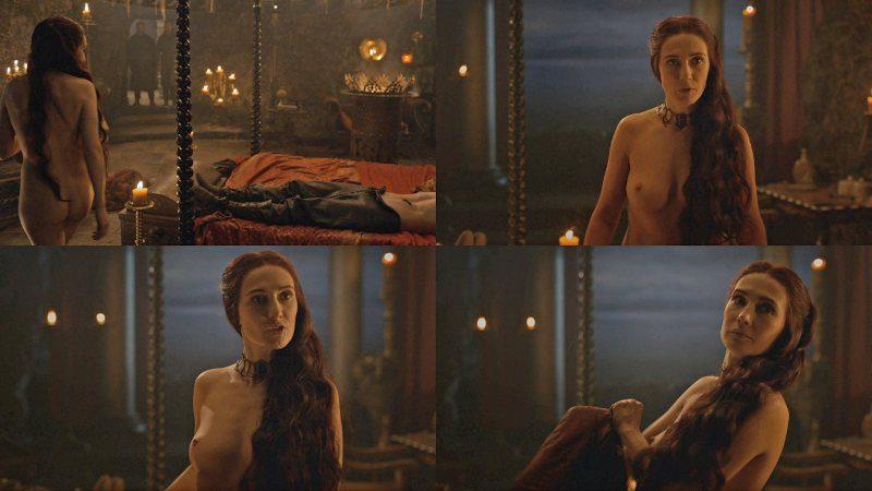 Carice Van Houten desnuda