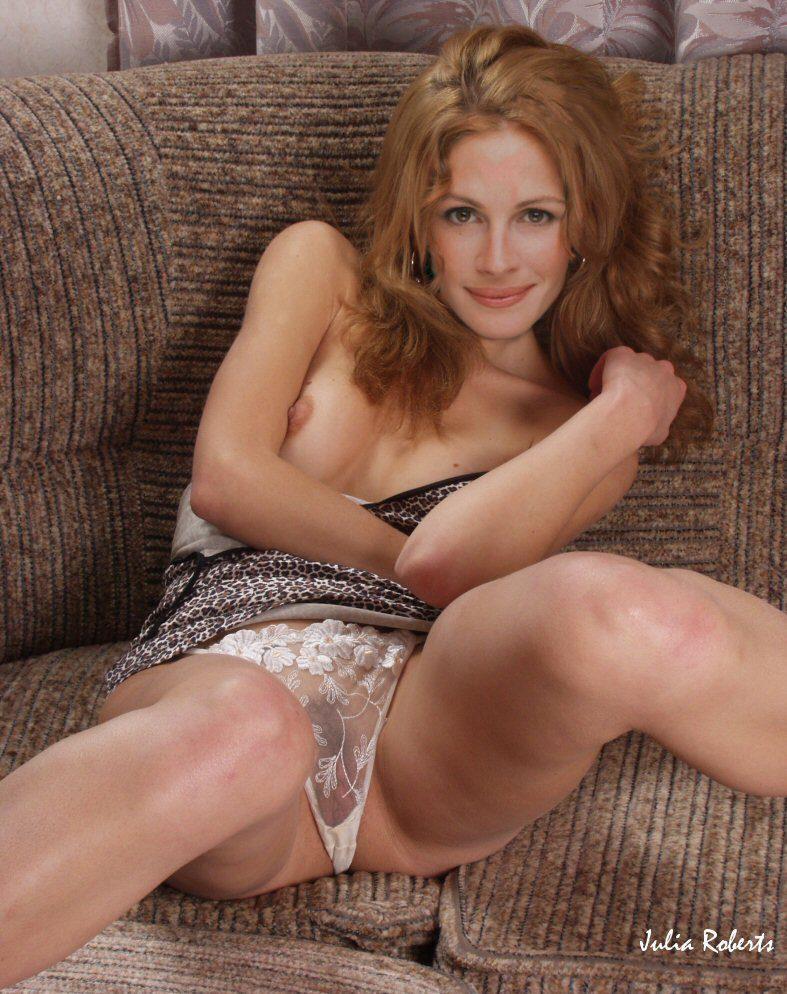 Julia Roberts topless