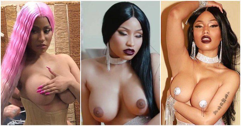 Nicki Minaj desnuda