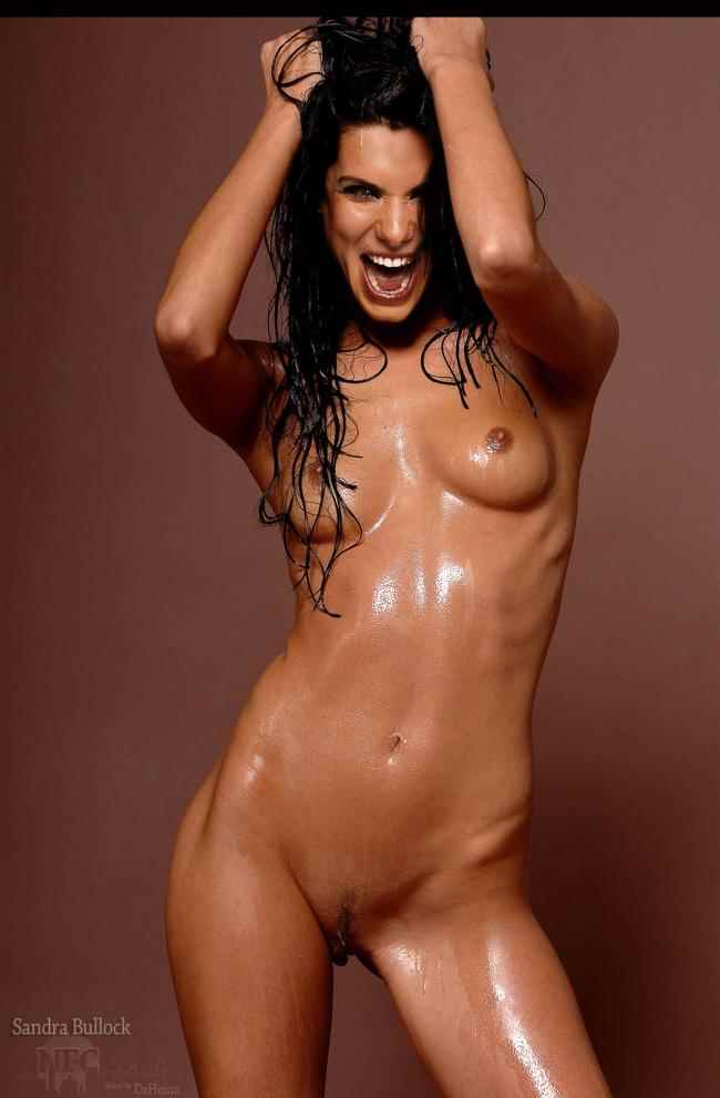 Sandra Bullock desnuda