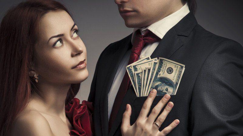 Follando por dinero