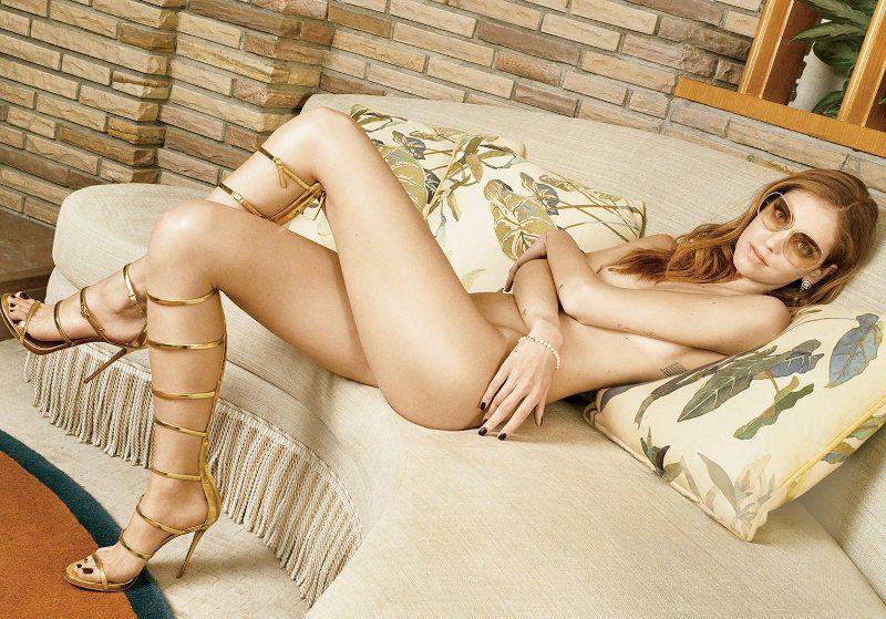 Chiara Ferragni desnuda