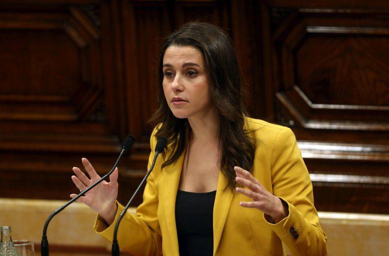 Inés Arrimadas desnuda al presidente