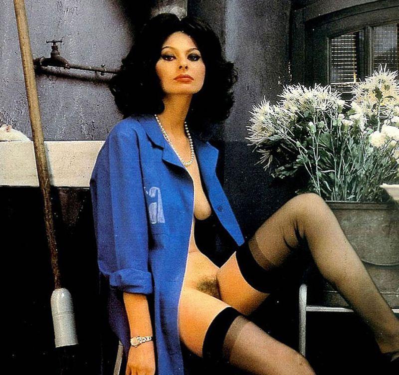 Sophia Loren desnuda